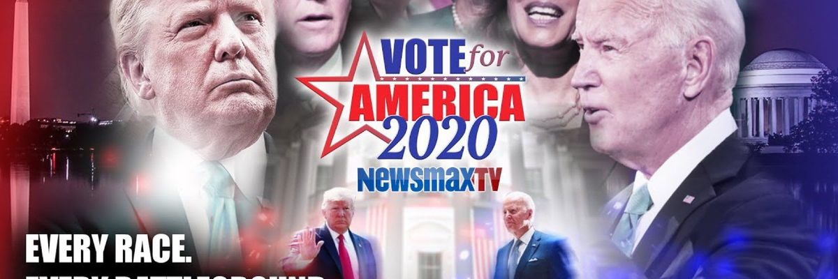 Newsmax official Parler Account @Newsmaxofficial cover picture