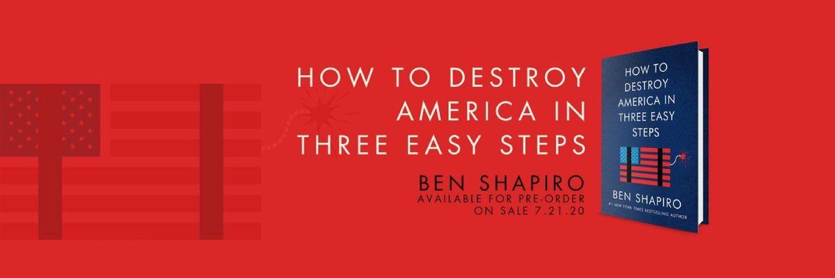 Ben Shapiro Parler Account @TheBenShapiro cover picture